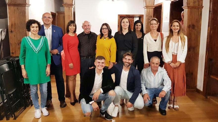 Candidatura del PSOE a la Alcaldía de Tijarafe.