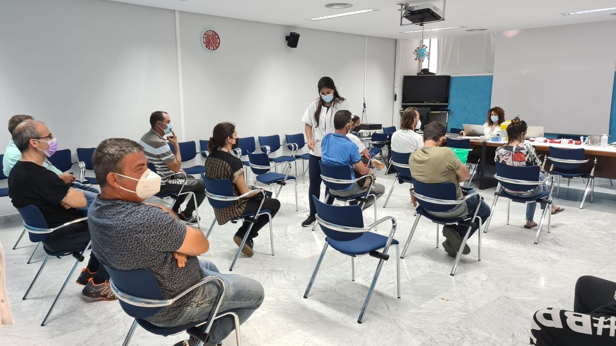 Campaña de vacunación del Gobierno de Canarias.