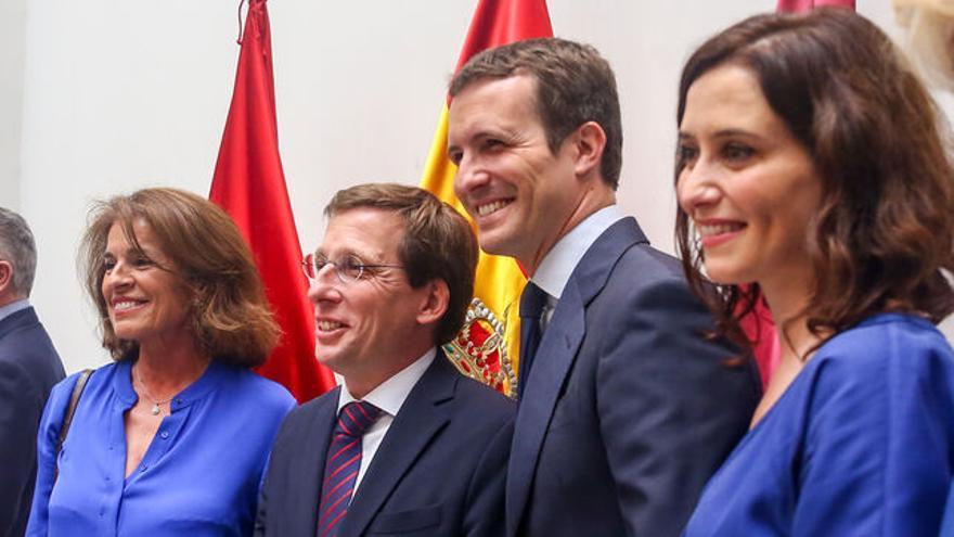 Dirigentes principales del PP. EP
