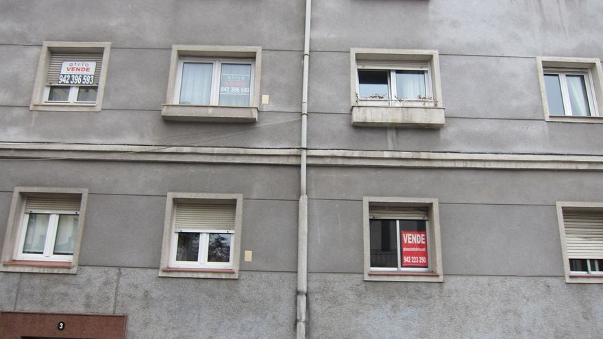 La venta de viviendas en Cantabria subió un 3,8% en el tercer trimestre