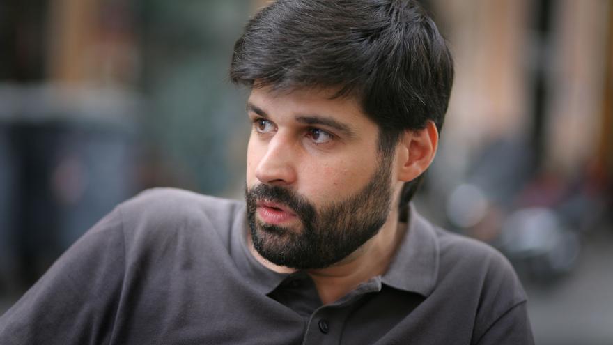 L'escriptor Vicent Baydal.