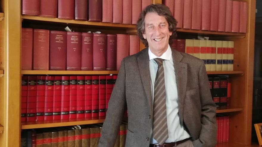 Jordi Durà, abogado civilista, vocal de Dincat y padre de una joven con Síndrome de Down.