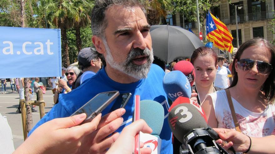 """Cuixart (Òmnium) ve en la detención de la alcaldesa de Berga un """"nuevo golpe a la democracia"""""""