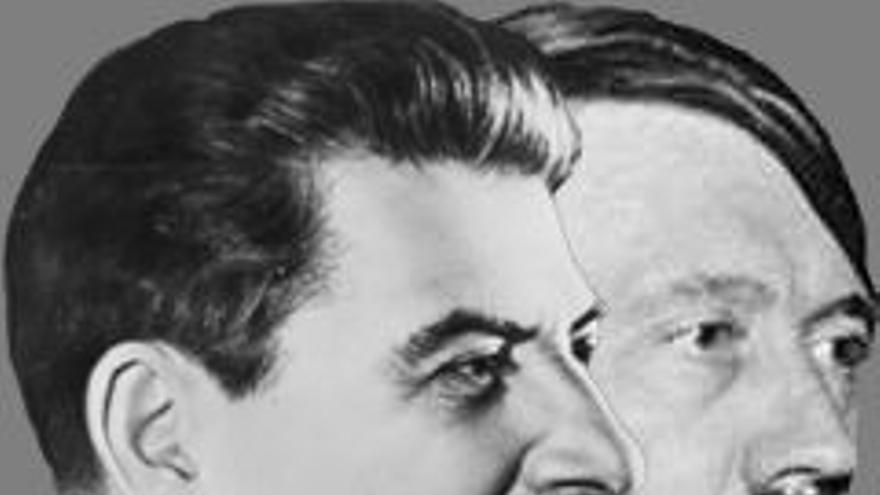 Stalin y Hitler fueron aliados durante los primeros dos años de guerra
