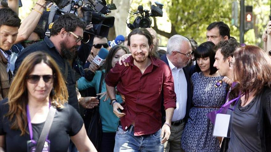 """Pablo Iglesias reivindica a Podemos como el """"movimiento heredero"""" del 15M"""