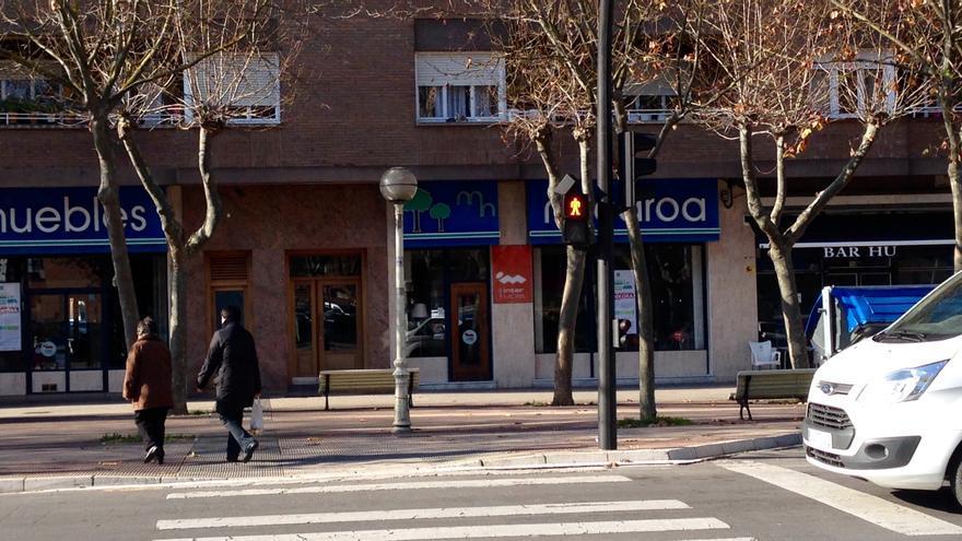 Domicilio en Vitoria del detenido acusado de planear un atentado con un camión