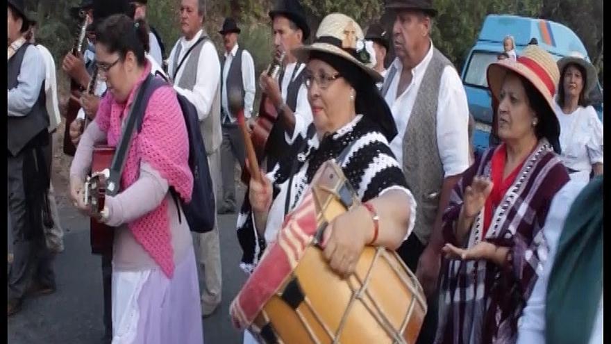 Imagen de archivo de la romería de El Ingenio de Santa Lucía.