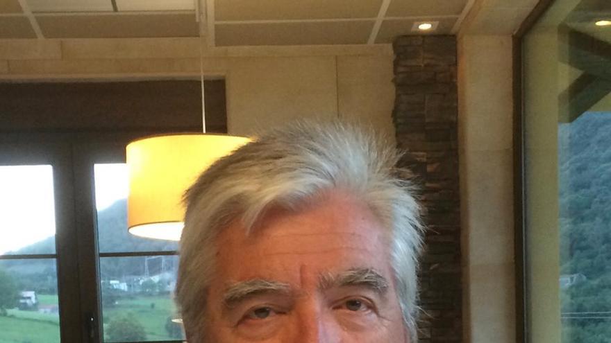 Juan Carlos Martínez, patólogo jubilado del hospital Gregorio Marañón. / Imagen cedida