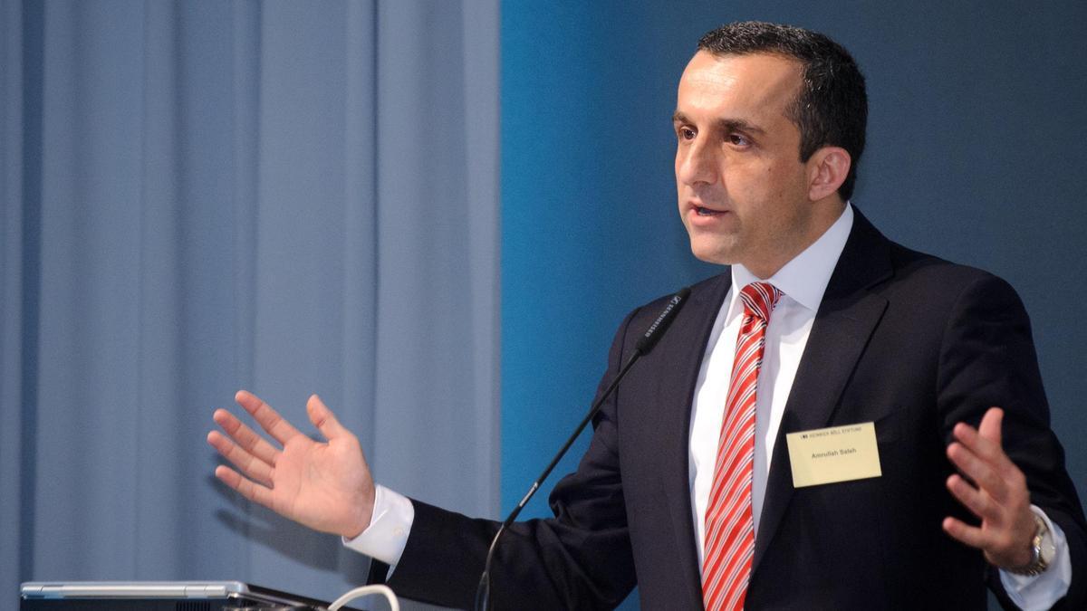 Amrullah Saleh en 2011, durante un acto de la Fundación Heinrich-Böll