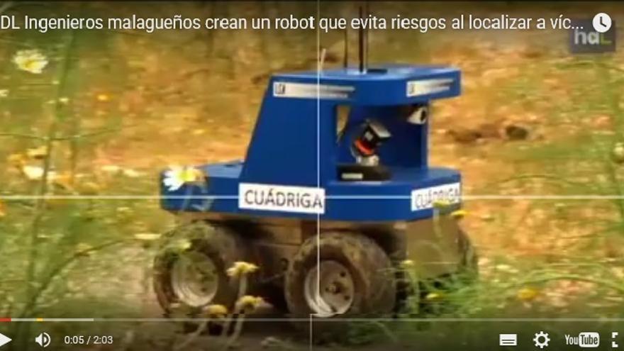 Cuádriga, el robot para los desastres