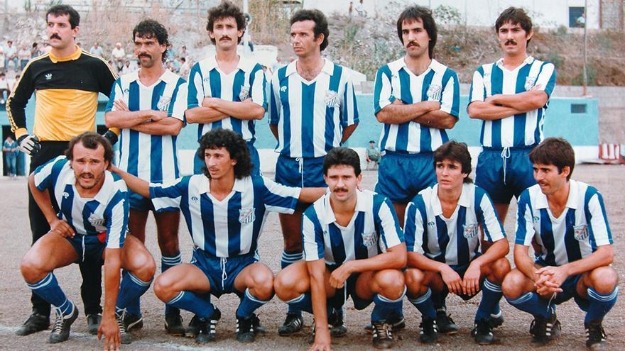 Formación del Güímar de comienzos de la década de los 80 del siglo pasado.