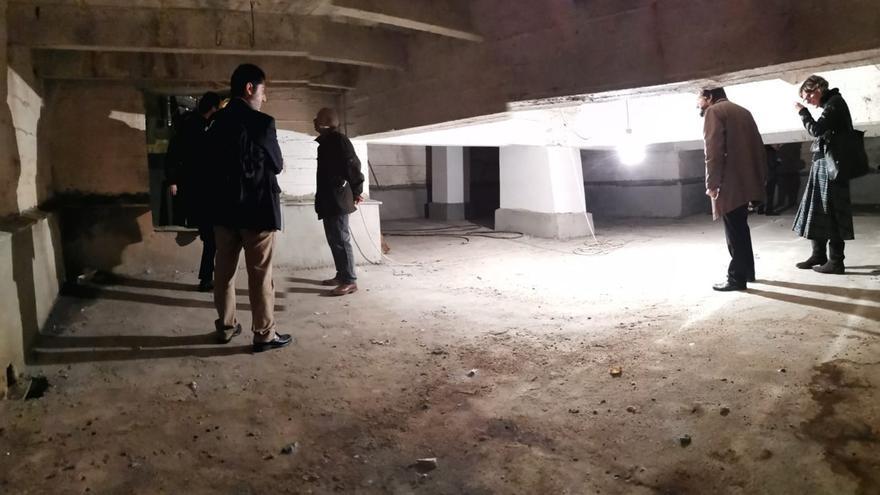 Vista a la cripta.
