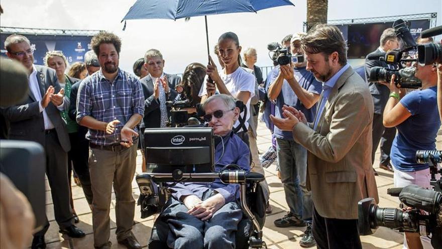 Stephen Hawking será la figura central del Starmus 2016 de arte y ciencia