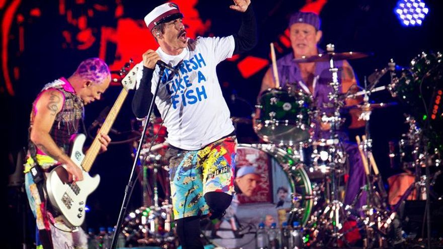 Red Hot Chili Peppers actuará en el próximo Super Bock Super Rock de Lisboa