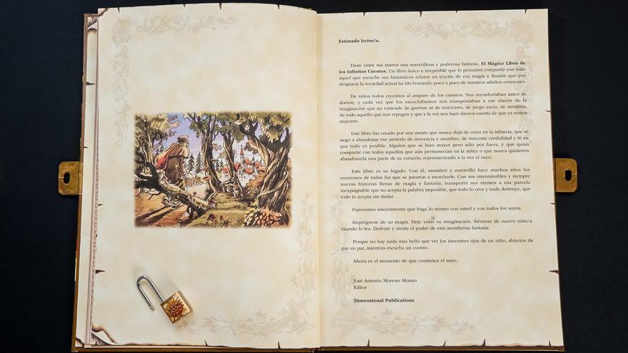 Apertura de 'El libro de los cuentos infinitos'