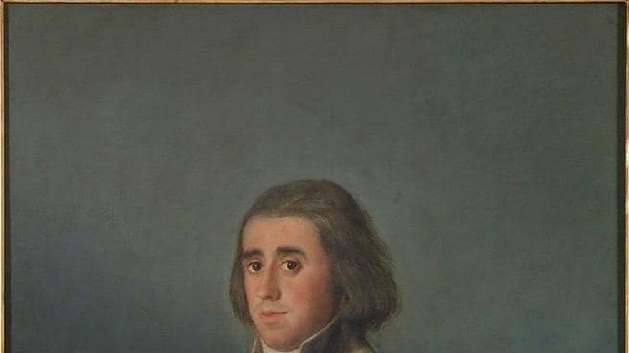 Retrato de Valentín Belvís de Moncada y Pizarro, marqués de Villanueva del Duero.