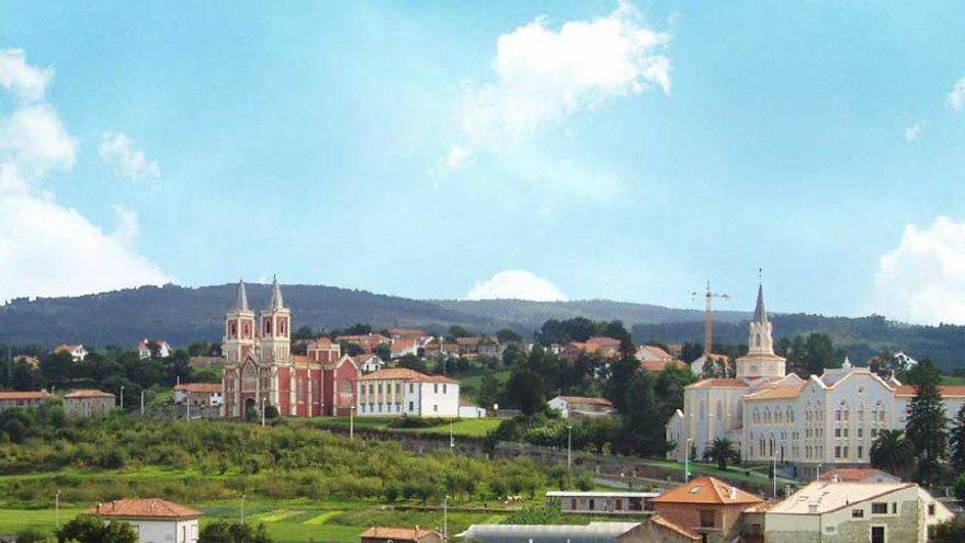 El municipio de Alfoz de Lloredo.