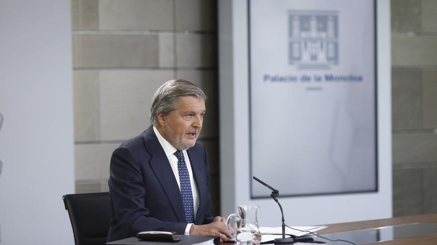 """El Gobierno dice que es Puigdemont quien cierra la puerta al diálogo al persistir en el """"referéndum ilegal"""""""