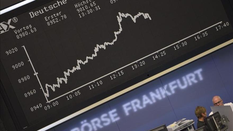 El DAX alemán baja un 0,03 por ciento hasta los 9.075,98 puntos