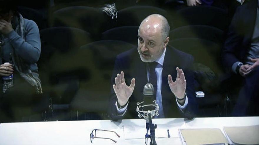 El exvicesecretario del PP valenciano David Serra declara en el caso de la financiación ilegal del PP valenciano dentro del Gürtel