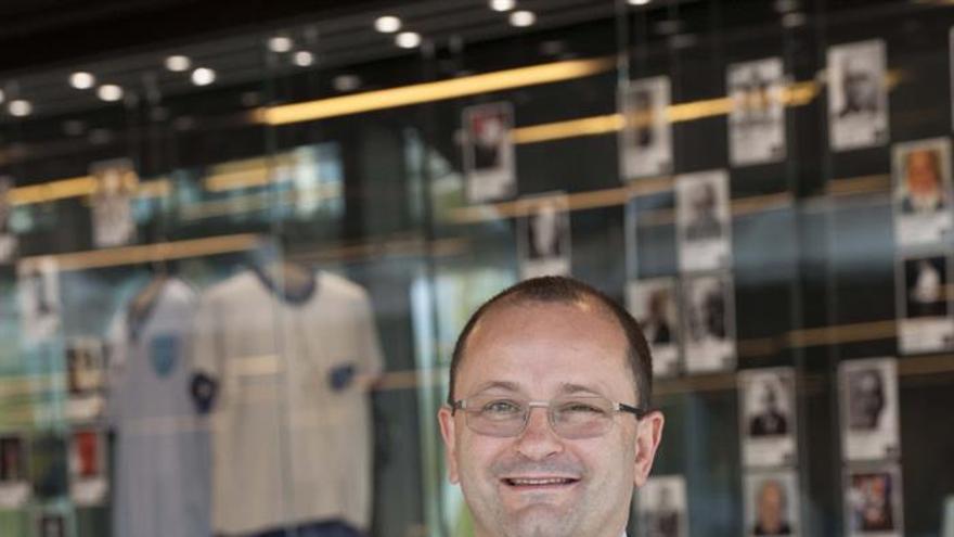 El secretario general de la Federación Internacional de Baloncesto, el suizo Patrick Baumann.EFE/José Reina
