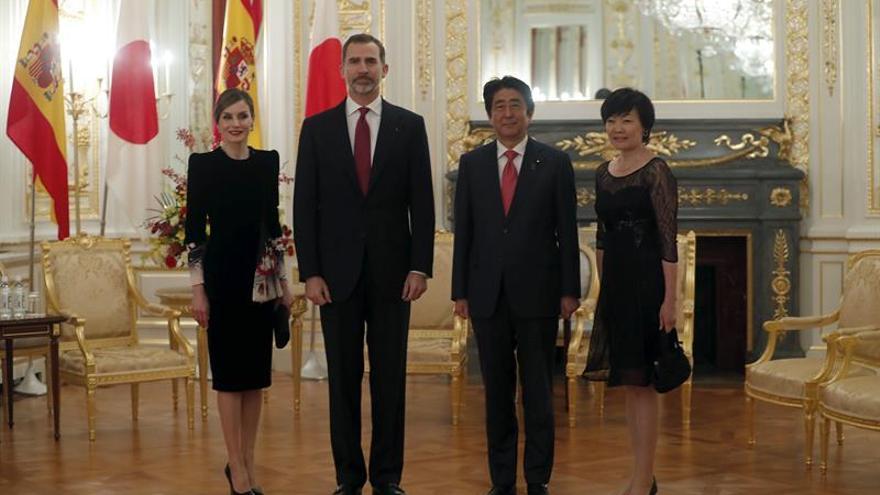 Felipe VI brinda España a Japón como plataforma para sus empresas en la UE