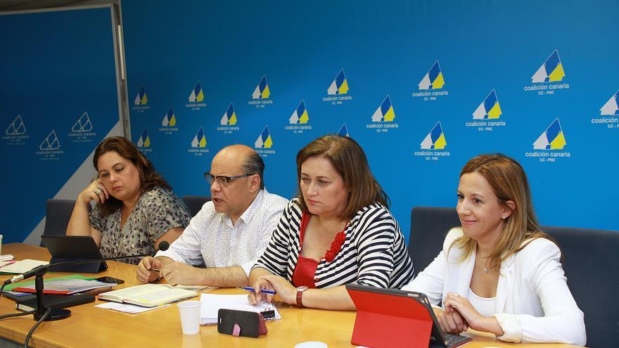 Nueva Comisión Ejecutiva Nacional (CEN) de Coalición Canaria.