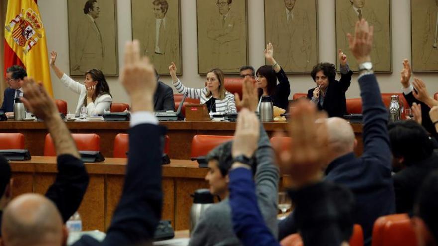 La Diputación Permanente vota los decretos del Gobierno de Pedro Sánchez.