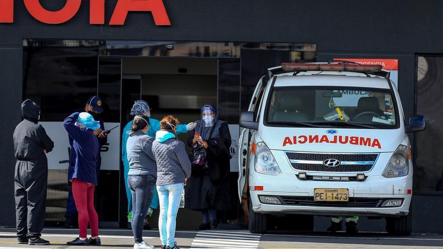 Ecuador reporta 242.146 casos acumulados y 14.668 fallecidos por la covid-19