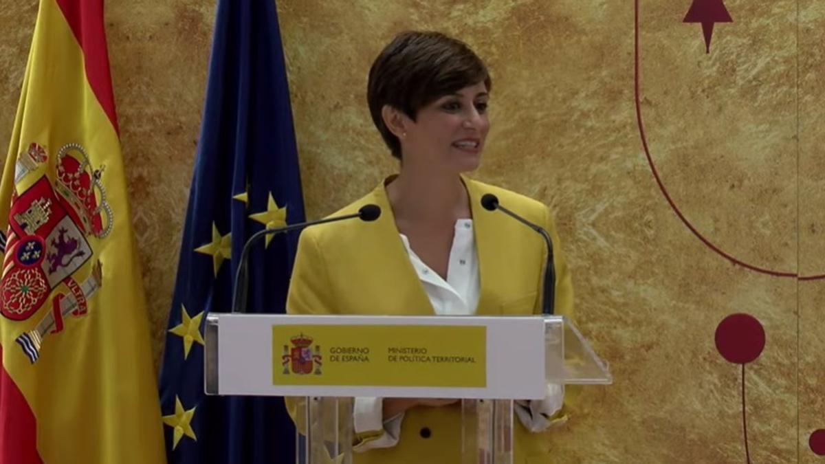 Isabel Rodríguez ha visitado hoy Teruel