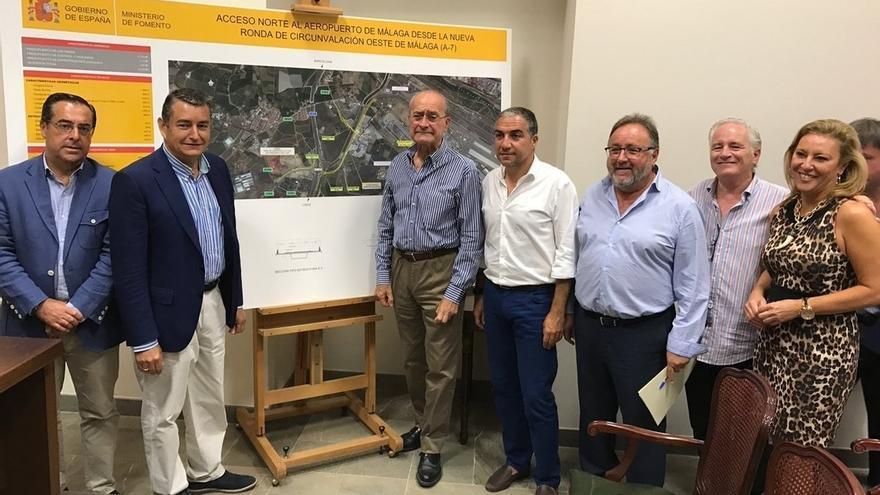 El Gobierno prevé comenzar las obras del acceso norte al aeropuerto de Málaga a principios de 2018