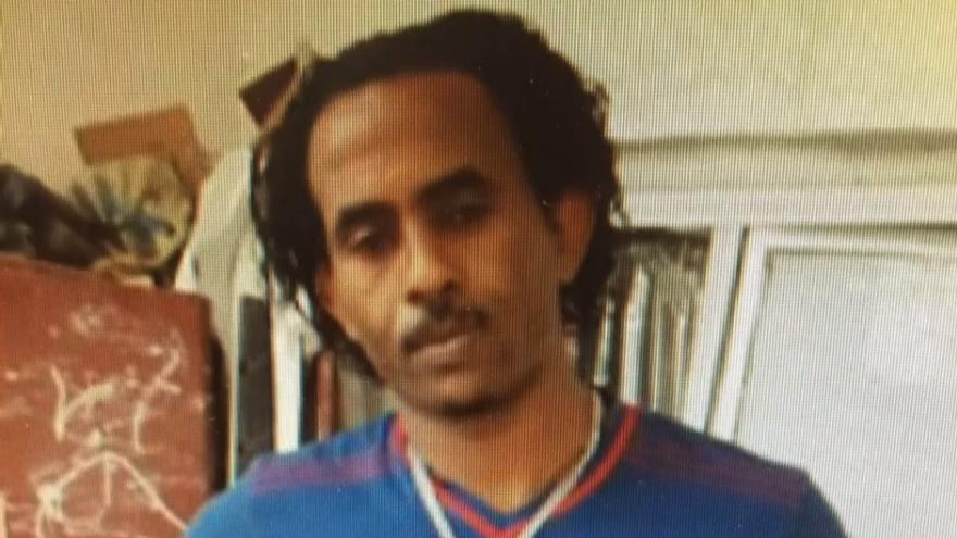 Imagen del traficante de personas  Medhanie Yehdego Mered, apodado como 'El General'
