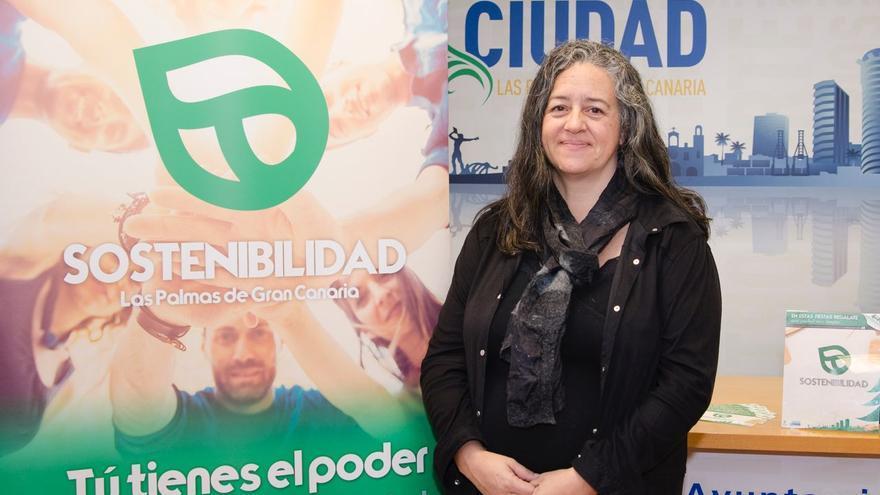 Pilar Álvarez es la concejala del primer Área integral de Sostenibilidad que tiene el Ayuntamiento de Las Palmas de Gran Canaria.