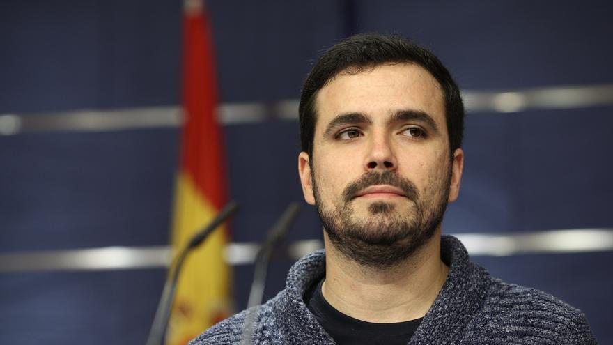 """Garzón cree que los socialistas muestran sus contradicciones al pactar con el PNV, """"la derecha vasca"""""""