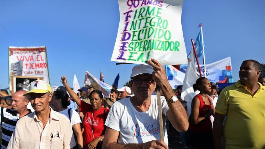 Cuba subraya el apego a los ideales revolucionarios en los actos del 1 de Mayo