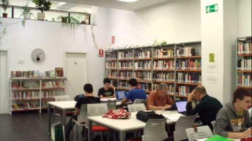 Biblioteca municipal de Valencia Nova Al-russafí