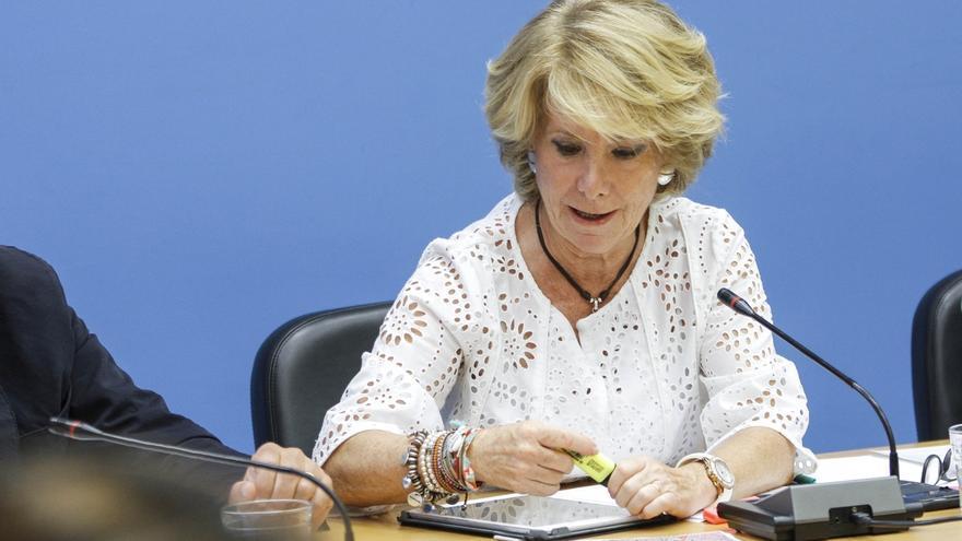 """Aguirre critica a Carmena que una jurista como ella reconozca el derecho de secesión de """"Forcadell y sus secuaces"""""""