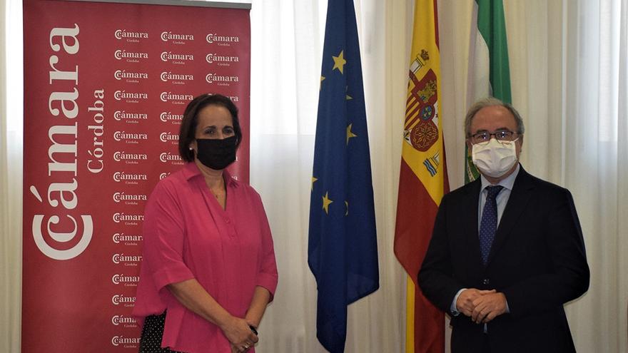 Blanca Torrent y Antonio Díaz.