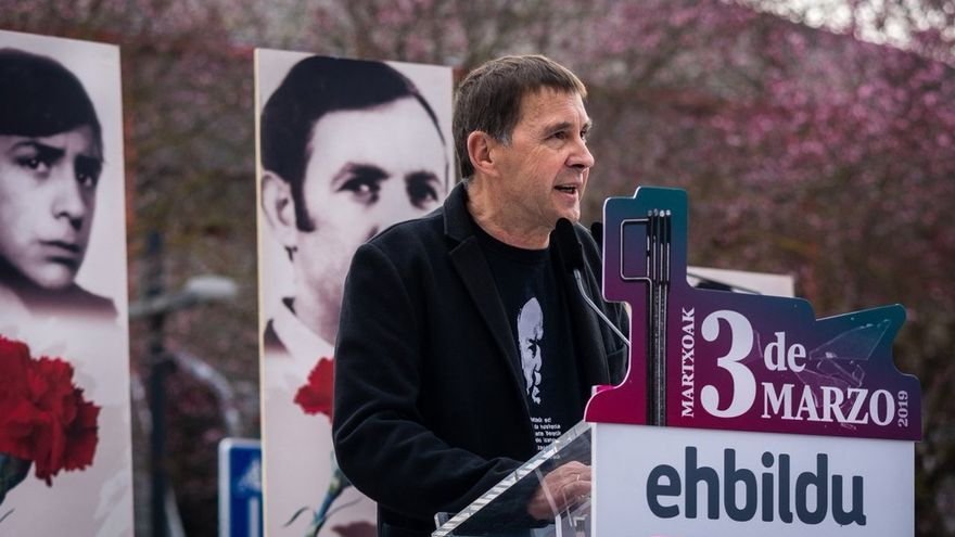 """Otegi propone una coalición progresista de """"naciones sin Estado"""" para combatir al """"bloque reaccionario"""""""