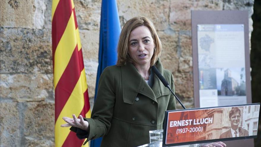 Chacón: solo el PSOE garantiza el cambio y votar a Rivera puede suponer dar el voto a Rajoy