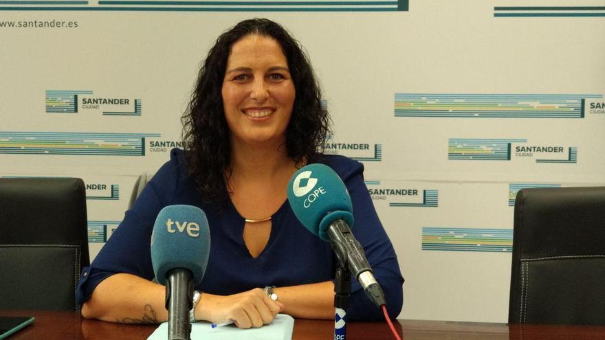 Cora Vielva en rueda de prensa. | R.A.