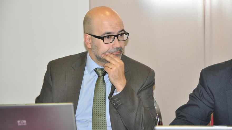El presidente de la  Asociación del Comercio de Cuenca