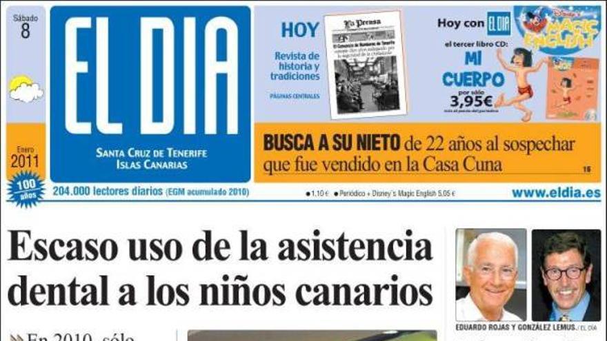 De las portadas del día (08/01/2011) #4