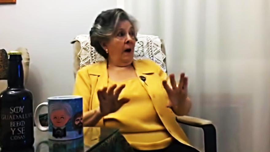"""Guadalupe Fiñana viendo """"Juego de tronos"""""""