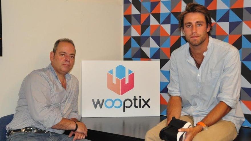 Javier Párraga y Javier Elizalde, fundadores de Wootpix.