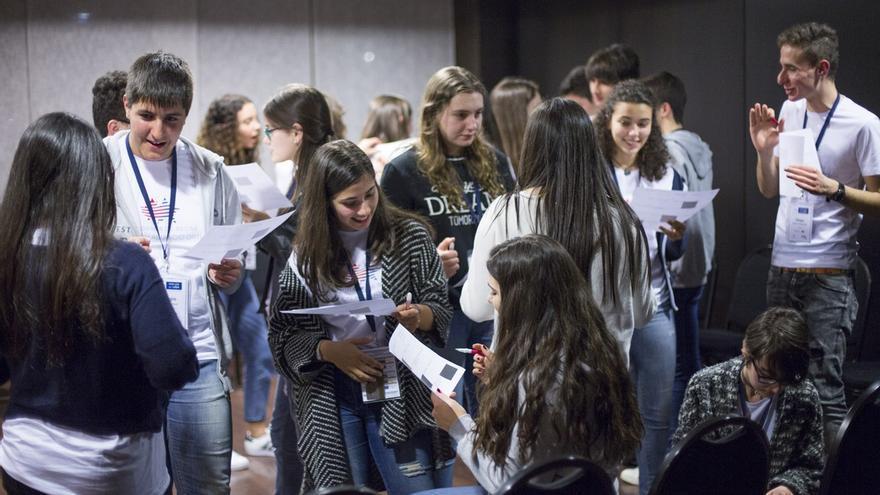 Estudiantes becados por la Fundación Amancio Ortega