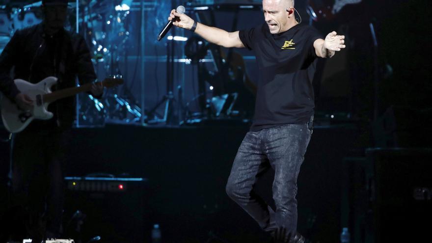 El cantante italiano Eros Ramazzotti