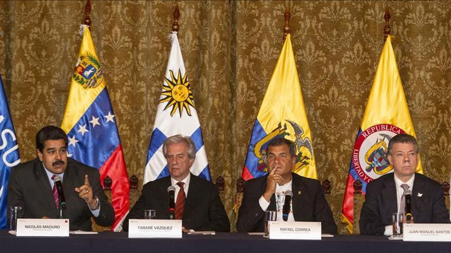 """Santos le dijo a Maduro en su reunión que """"rompió las reglas del juego"""""""