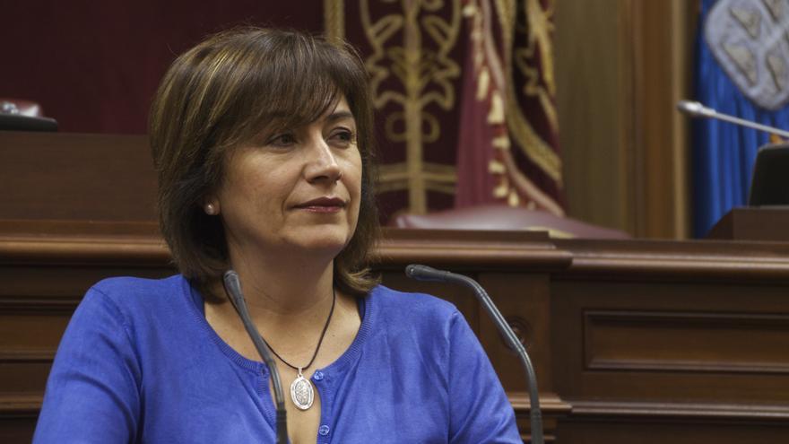 Rosa Jerez, presidenta de la Gestora del PSOE en La Gomera