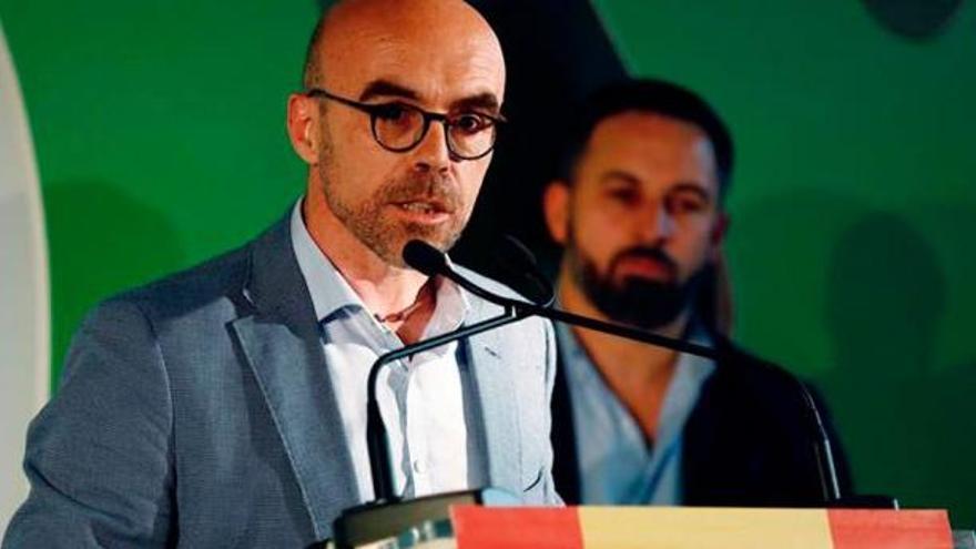 Buxadé y Abascal consideran terroristas a los antifascistas